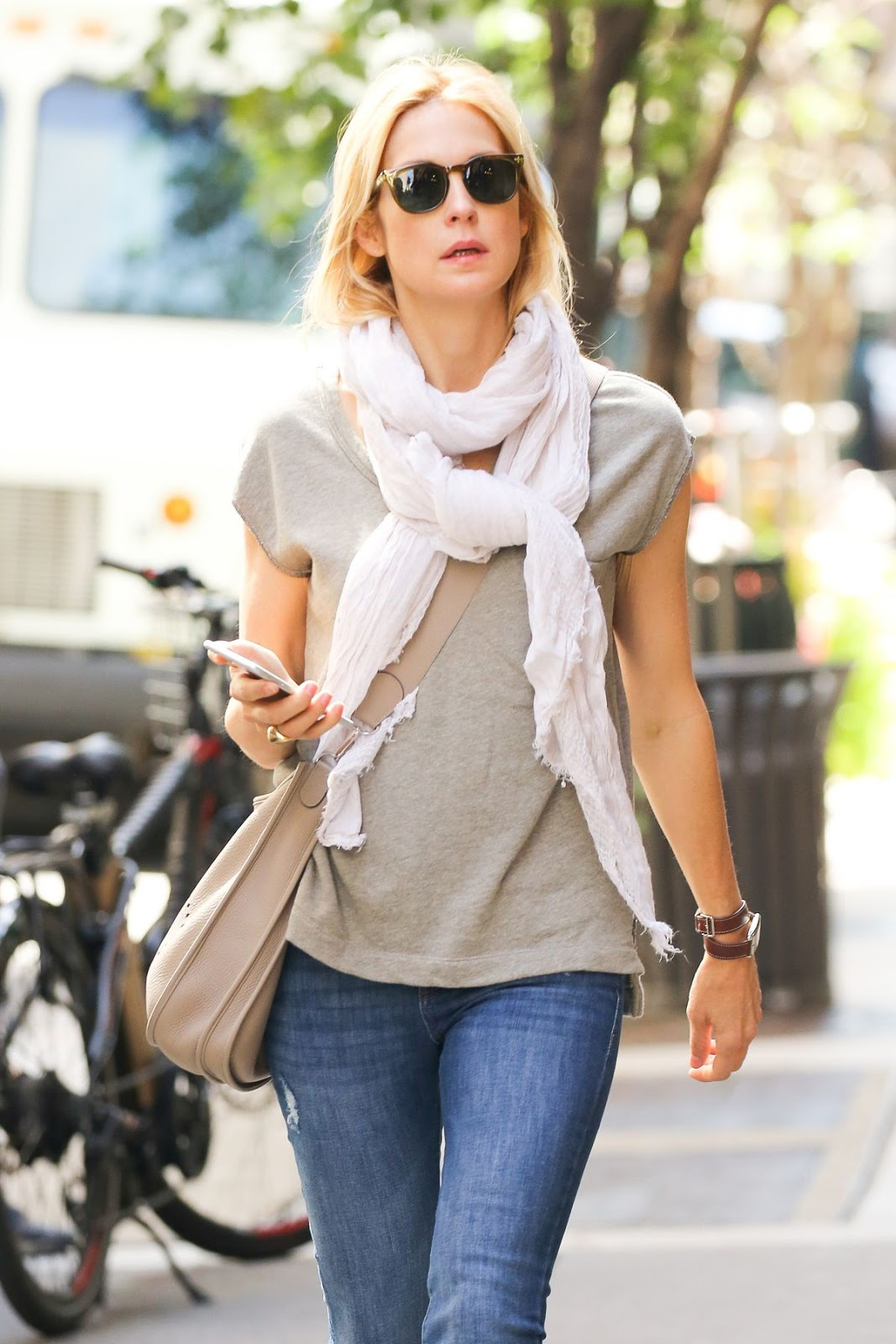 Kelly Rutherford Out And About In New York Photos