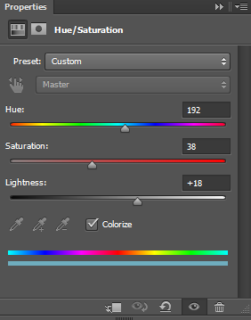Second-hue-and-saturation-settings-for-abstract-background-in-Photoshop
