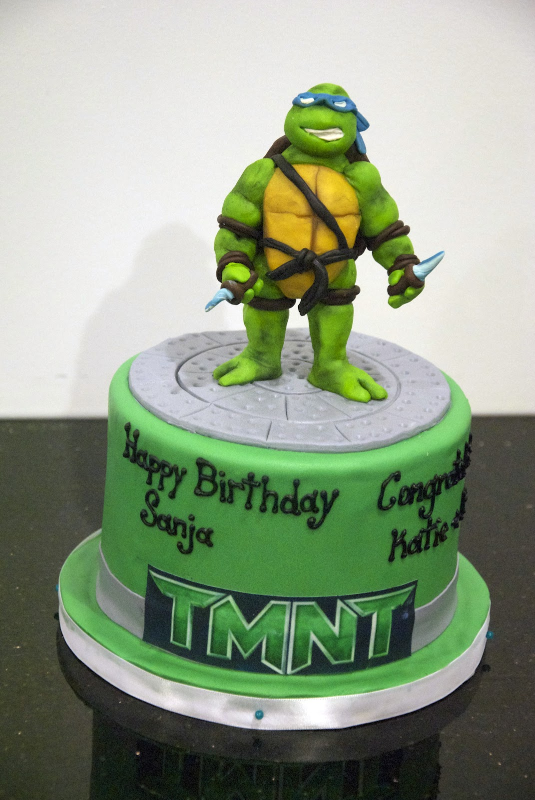 Zel S Cakes Tmnt Turtles Cake