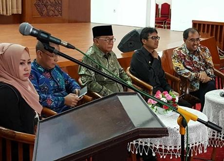 Gubernur Irwan Sebut Rembuk Nasional di Unand Sarana Meminta Dukungan Pusat