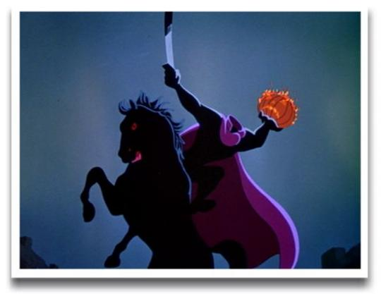 MzTeachuh: Tis the Season: The Legend of Sleepy Hollow Disney Headless Horseman