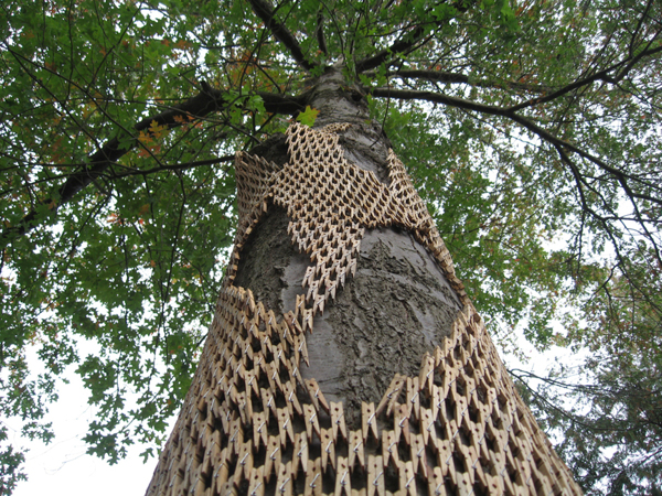 Clothespins Tree Wraps By Gerry Stecca Junkculture