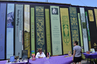 Loganberry Books Mural
