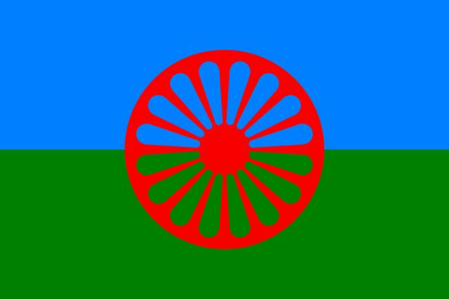 Flaga Romów