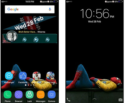 Spider-Man Theme itz For Vivo