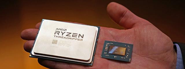 AMD giới thiệu chip Threadripper 1950X với 16 nhân xử lý và 1920X có 12 nhân