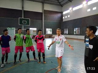 'Veve' beri motivasi Pemain Futsal Kebumen United