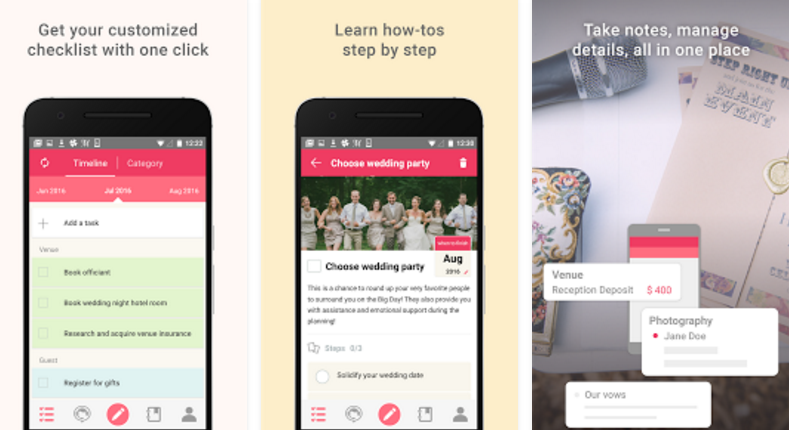 Wedding Planner App.Hightechholic An Amazing Wedding Planner App Easy To Work And
