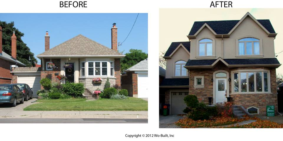 Before And After Second Y Addition By Wobuilt