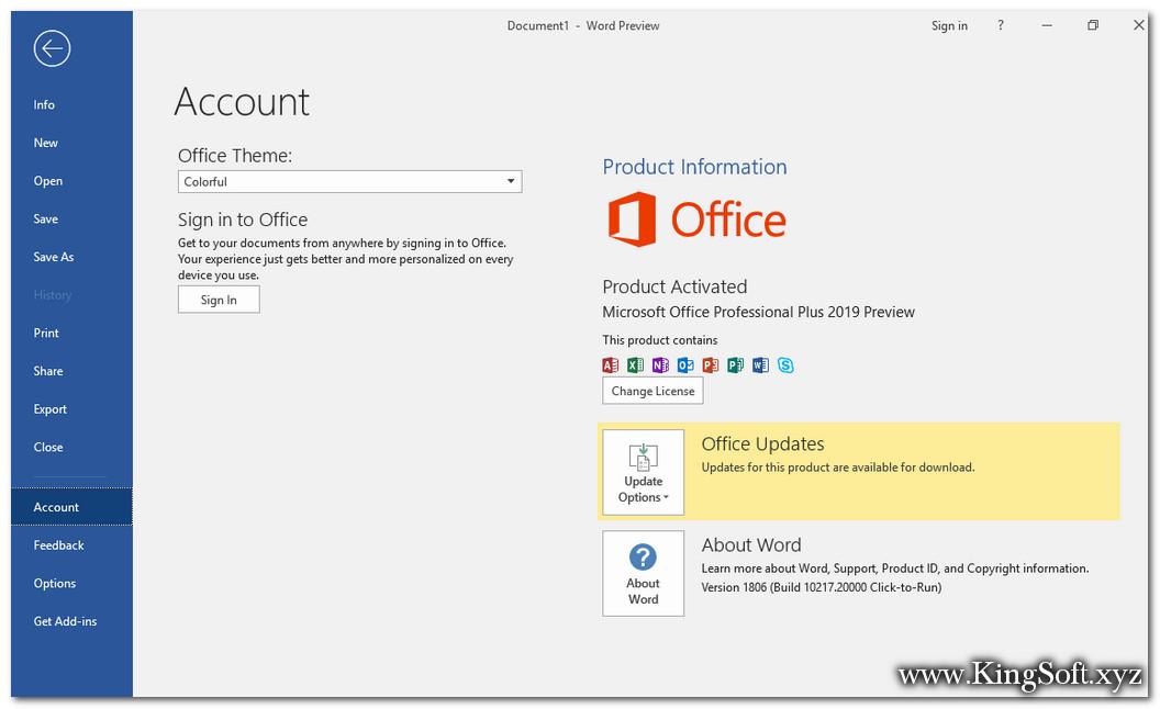 Mua bán key bản quyền Office 2019 Pro Plus giá rẻ