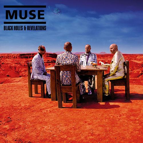 Rock Album Artwork: Muse - Black Holes & Revelations