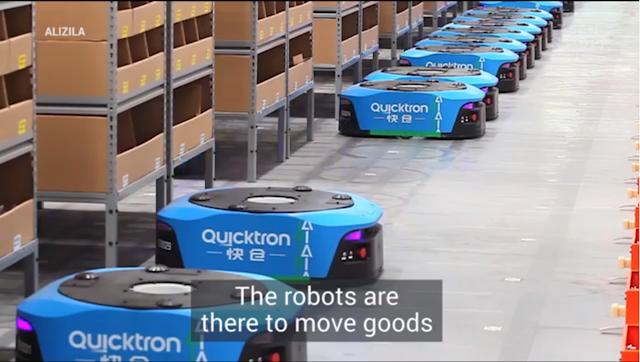 Kemampuan Robot Warehouse di Gudang Alibaba