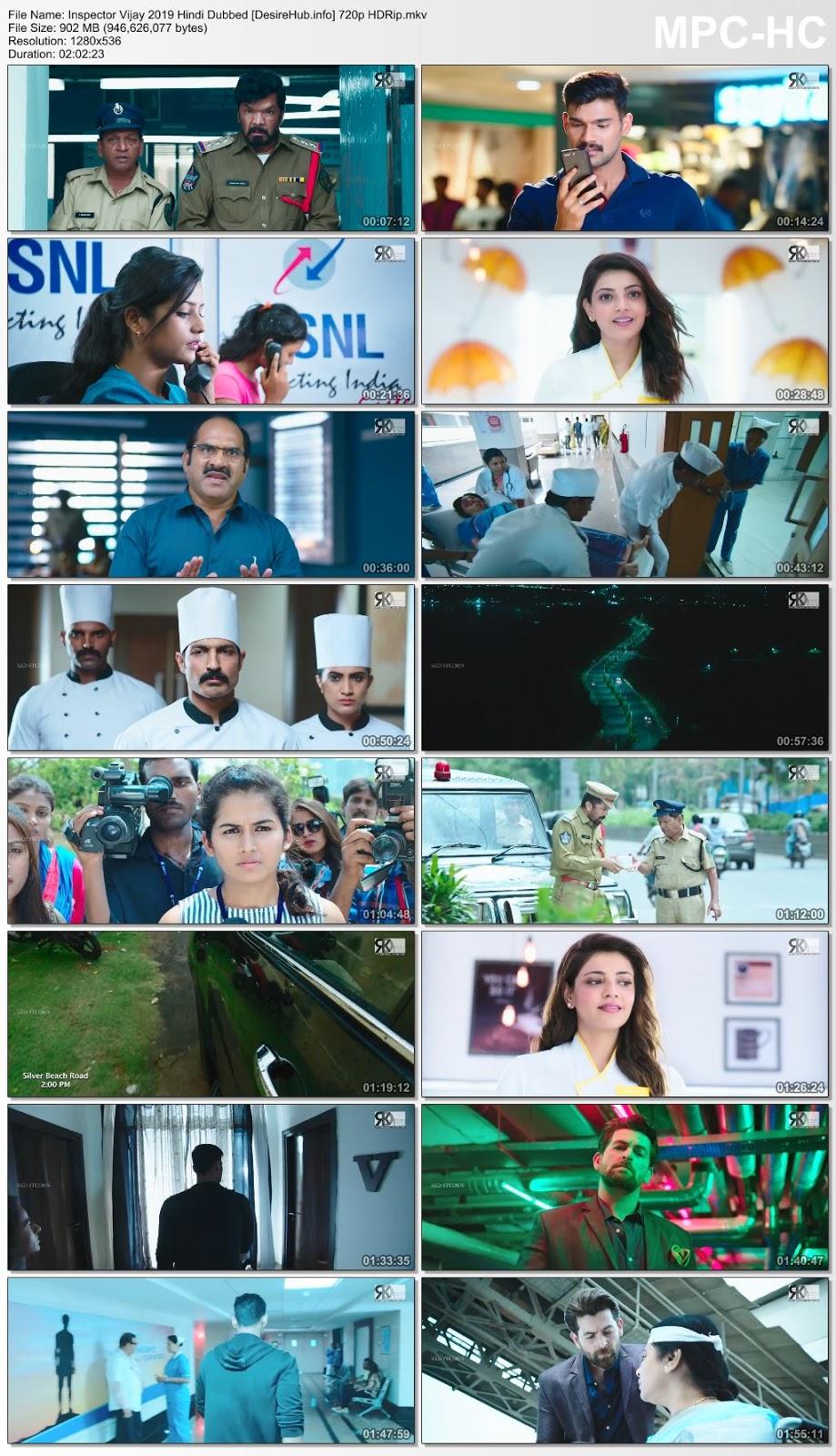 Inspector Vijay 2019 Hindi Dubbed 720p HDRip 900MB Desirehub