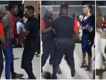 Nigerian man fakes being unable to pay for a date to propose to his girlfriend (Video)