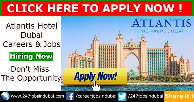 Jobs in Atlantis Hotel Dubai and Careers