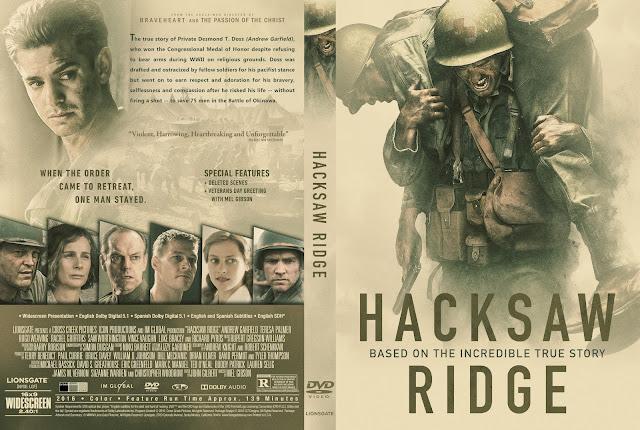 Capa DVD Hacksaw Ridge