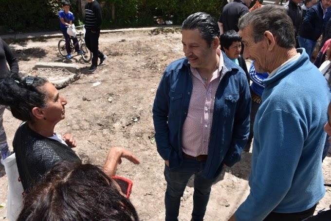 Avanzan las obras en Barrio Rivadavia