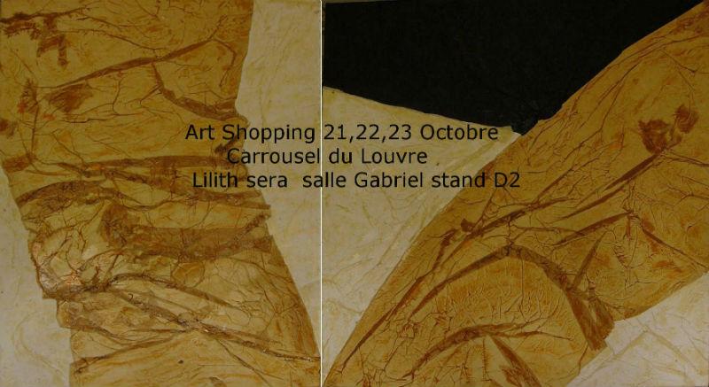 expositions des peintures de Lilith au Carrousel du Louvre