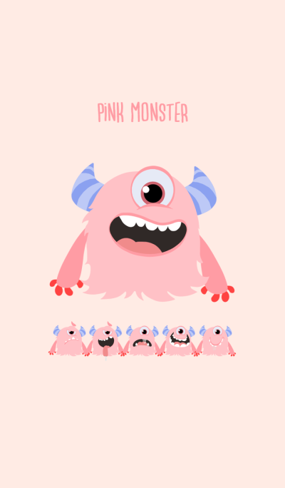 pink monster.
