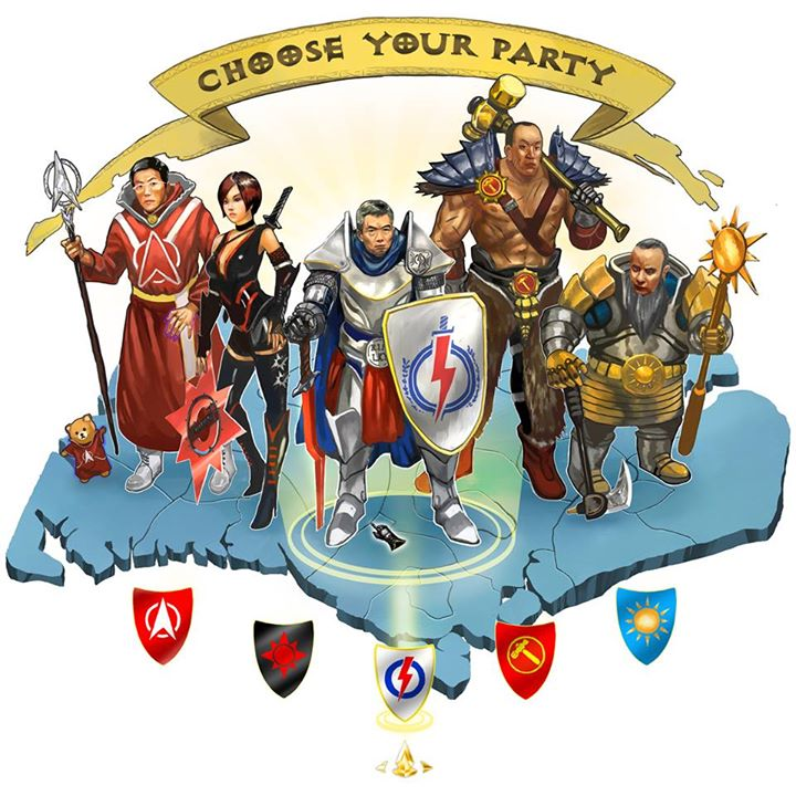 CHOOSE YOUR PARTY!