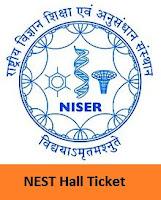 NEST Hall Ticket