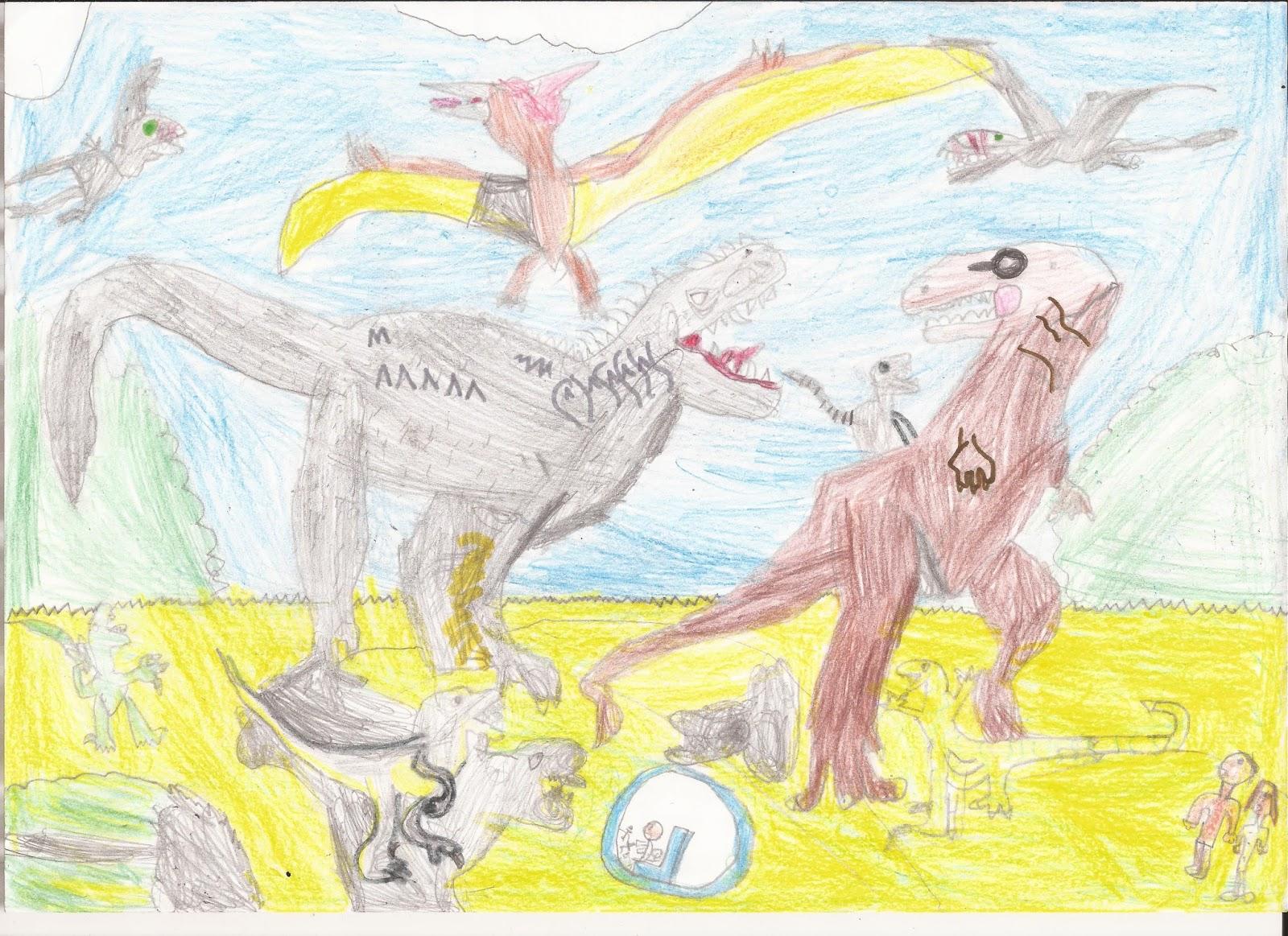 Mis Dibujos Jurassic World