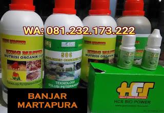 Jual SOC HCS, KINGMASTER, BIOPOWER Siap Kirim Banjar Martapura