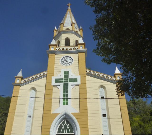 Igreja Matriz em Passa Quatro Minas Gerais