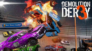 Demolition Derby 3 Mod Apk v1.0.018 Unlimited Money & Gold Terbaru 2019