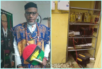 Lethal weapons, petrol bombs recovered from Nnamdi Kanu's house - Abia Police Commissioner