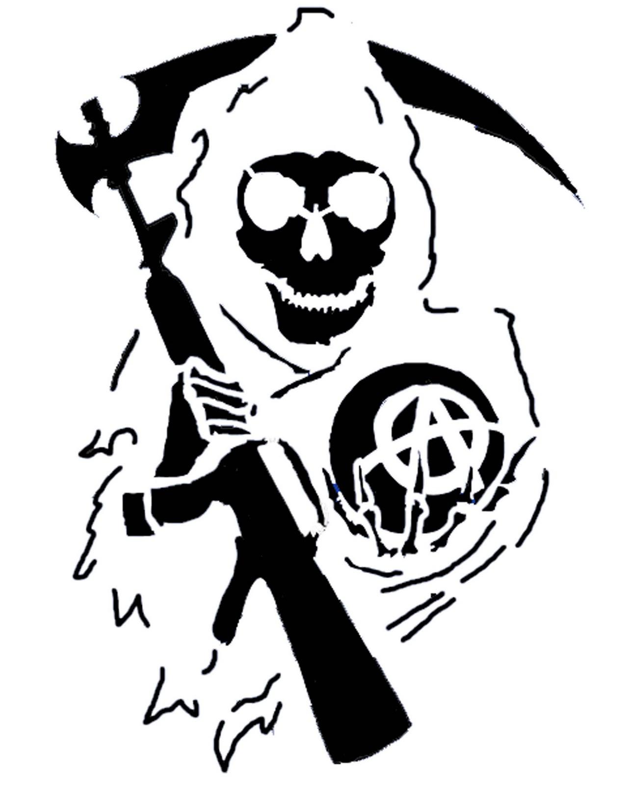 Grim Reaper Pumpkin Stencil Halloween Pumpkin Stencil Halloween