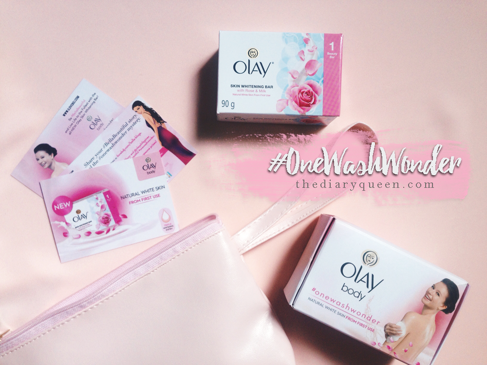 Experience #OneWashWonder with Olay Skin Whitening Bar