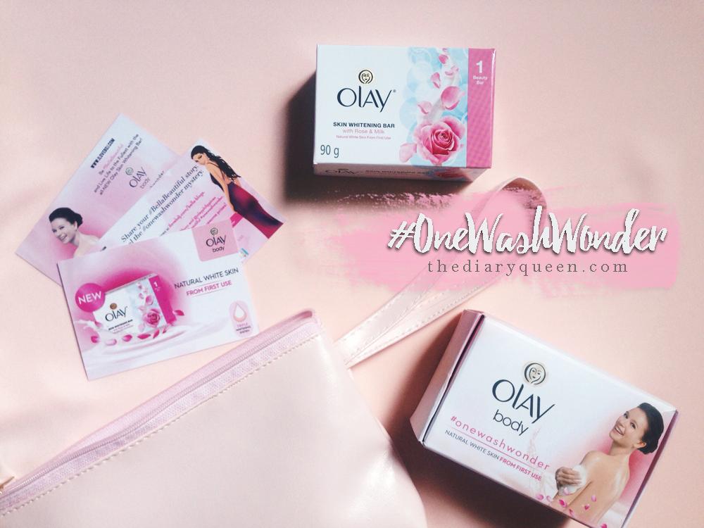 Experience #OneWashWonder with Olay Skin Whitening Bar