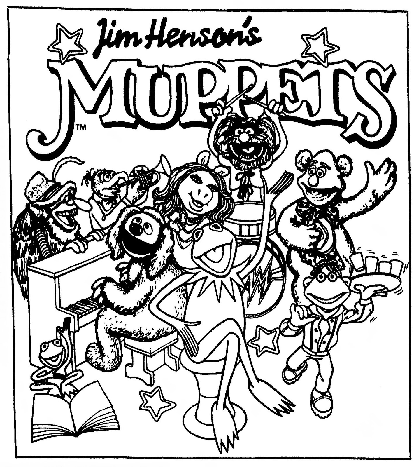 Mostly Paper Dolls Too!: MUPPETS Comic Strip