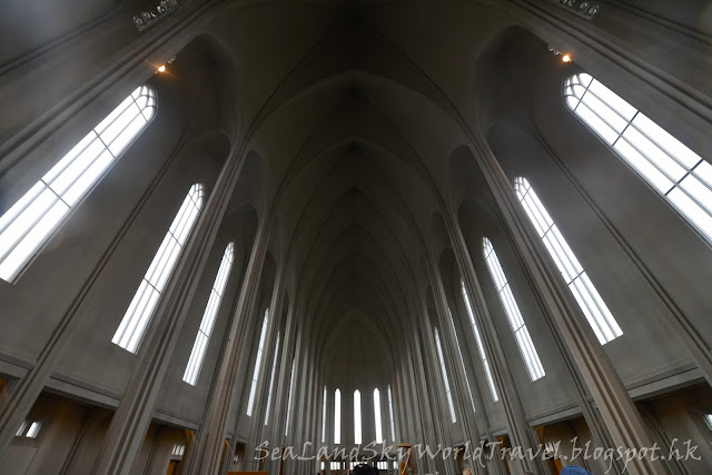 雷克雅未克 Reykjavík , Hallgrimskirkja教堂