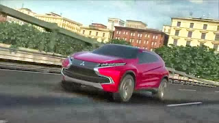 compact SUV concept vehicle from Mitsubishi first shown at the Tokyo Motor Show 2013