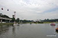 perahu angsa taman mini indonesia indah