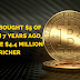 Did you know? If you'd bought $5 of Bitcoin 7 years ago, you'd be $4.4 Million Richer