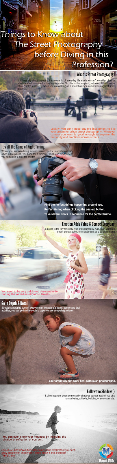 Street Photography Tips: Infographic