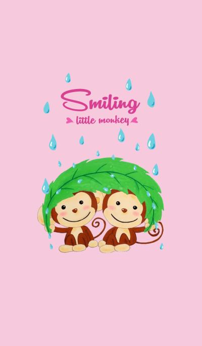 Smiling little monkey-3