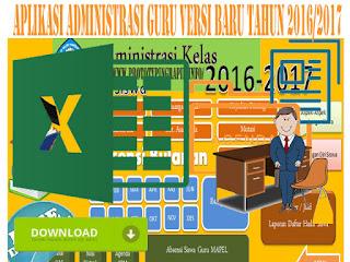 Dokumen Aplikasi Administrasi Guru Versi Baru Tahun 2016/2017