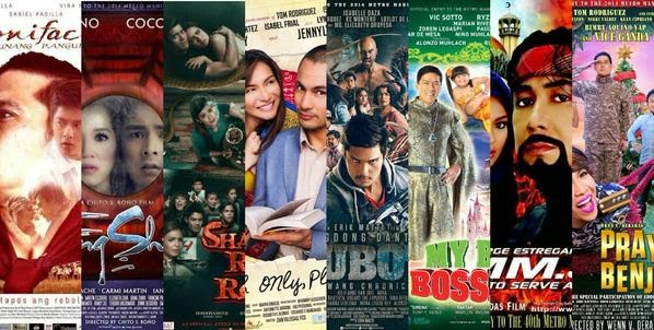 Official entries MMFF 2014