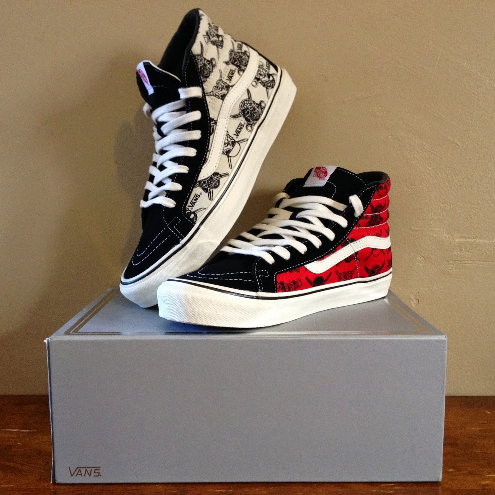 9580a369ed Laced   Fitted Syndicate  Star Wars x Vans Vault Collection OG Sk8 ...