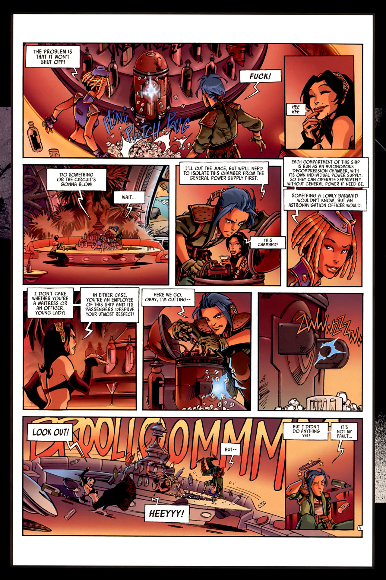 Read online Sky Doll comic -  Issue #3 - 56