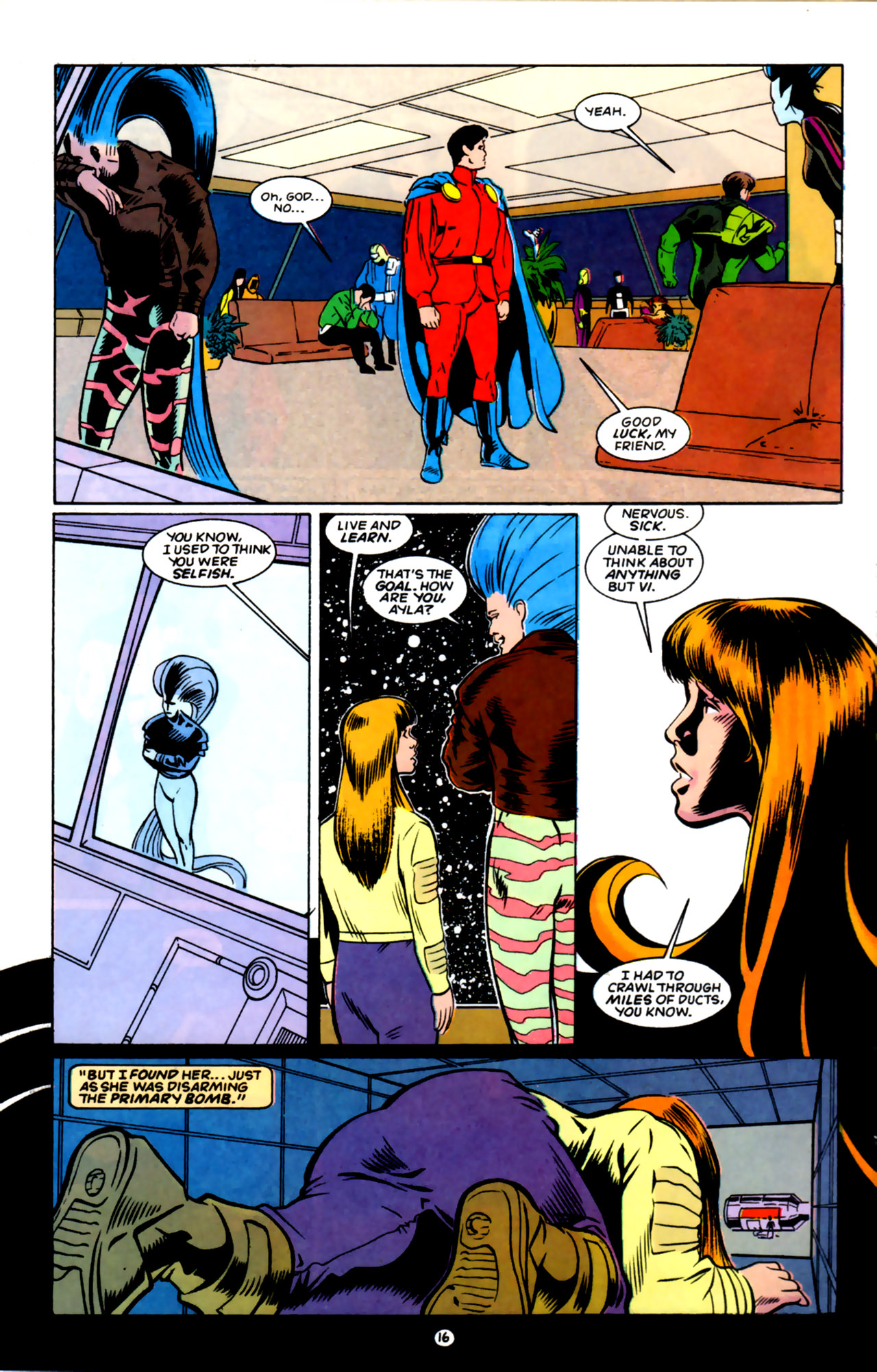 Legion of Super-Heroes (1989) 59 Page 16