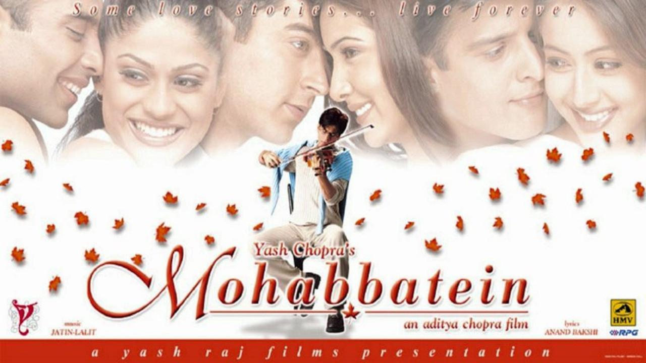 Mohabbatein Aishwarya rai movies