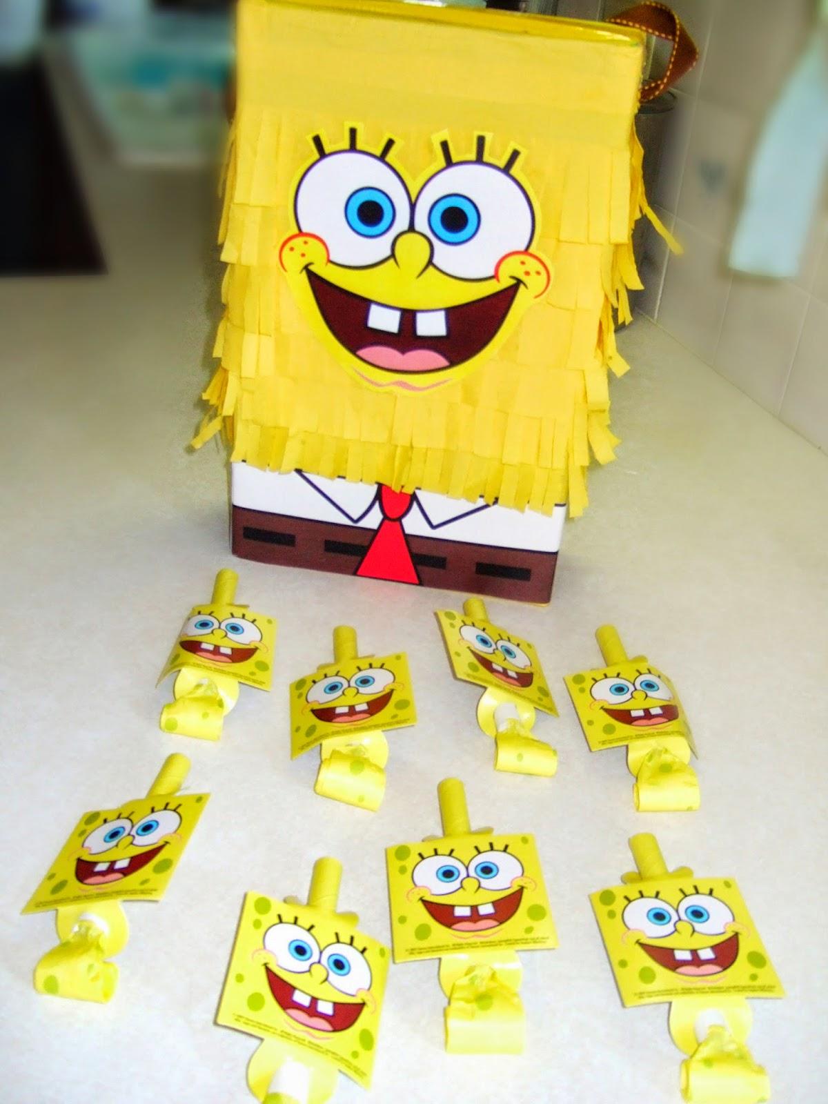 Jacobs Family Blog Spongebob Birthday Party