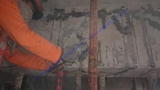 persiapan sebelum perkuatan beton