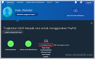 Cara verifikasi paypal