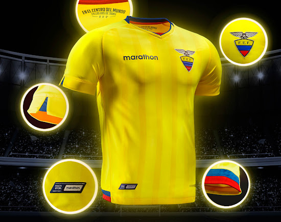 f99bdc005 Ecuador 2018 World Cup Qualifiers Kits Released - Footy Headlines